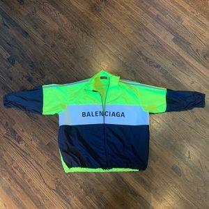 Balenciaga Neon Track Jacket Size 39